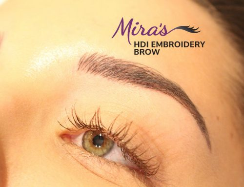 HDi embroidery brow – Microblading in Vancouver BC Canada