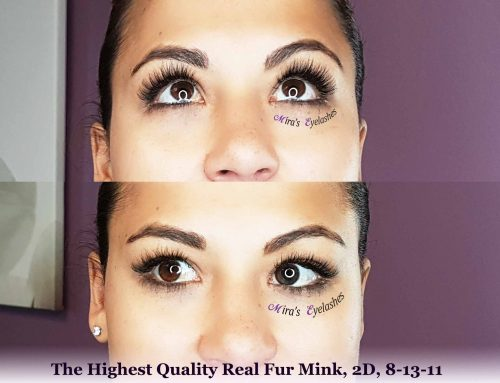 Extend the wear of eyelash extensions